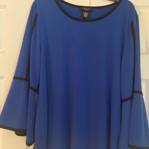 Beautiful women's top with bell sleeves